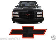 Genuine GM Black & Red Sport 454SS Bowtie For 1988-1993 C/K Trucks New Free Ship