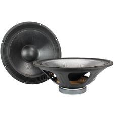 "2x QTX 15"" Mid Range Replacement Speaker Drivers Spare Parts Components 720W"