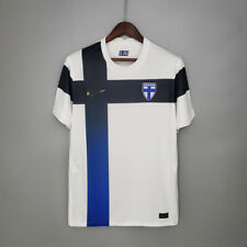 More details for finland home shirt 2020-2021 suomi jersey with armband