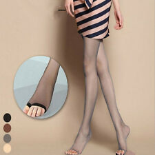 Women Sheer Ultra-Thin Tights Pantyhose Stockings  Open Toe Pantyhose