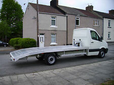 New Alloy recovery bodies euro plank deck body ,tilt and slide ,twin deck,