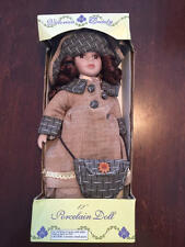 "Victorian Beauty Porcelain Doll 12"" Girl Dolgencorp NIB"