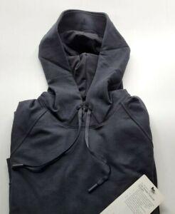 Lululemon Men's City Sweat Pullover Hoodie Black BLK Jogger NWT MEDIUM