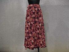 Rayon Petites A-Line Long Skirts for Women