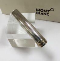 Montblanc Meisterstuck Solitaire Silver 164 Ballpoint Pen Cap Part