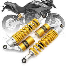 "2pcs 12.5"" 320mm Air Gaz Amortisseur Suspension Pour Moto Suzuki BMW Jaune"