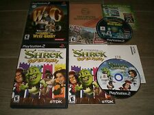 Wallace And Gromit & Shrek Super Party Complete CIB in GREAT COND for PS2!