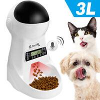 3L Futterautomat Für Hund Katze Haustier Automatischer Programmierbar Futter