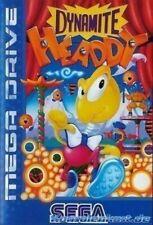 Sega Mega Drive juego-Dynamite Headdy con embalaje original muy buen estado
