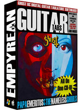GHOST Guitar Tabs CD-R Digital Lessons Software Ghost BC Tablature Windows Mac