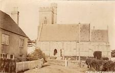 Fairlight Church Nr Hastings RP old pc used 1930 Sussex PC Co