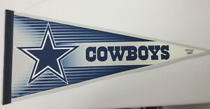 DALLAS COWBOYS PENNANT FOOTBALL NFL COLLECTABLES WINCRAFT MANCAVE NEW