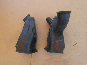 01-06 BMW M3 E46 #1047 Right & Left Brake Air Duct Dam 51717892786 51717892785