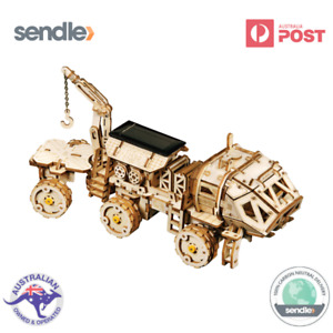 ROKR 3D Wooden Laser Cut Puzzle Navitas Mars Rover Gift For Space Enthusiasts