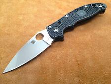 SC101PBK2 Spyderco Black Manix 2 CTS-BD1 Blade FRCP Handle bearing Lock Made USA