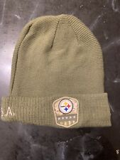 Pittsburgh Steelers New Era NFL 2019 Salute to Service STS  Winter Hat Adult