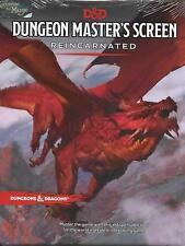 DUNGEONS & DRAGONS 5th - Dungeon Master's Screen Reincarnated NEW *RPG*