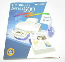 HP OfficeJet Series 600 User's Guide Office Jet HP Hewlett Packard Printer Fax