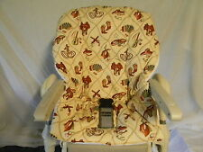 CHICCO POLLY High Chair Cover/Cowboy Item  ~~FUN~~