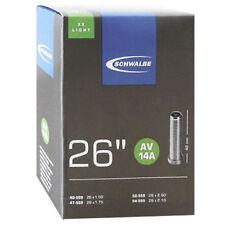 Schwalbe 26x1.5-2.1 Lightweight Tube Schrader Av14a - Black