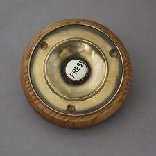 GRANDE Tradizionale Ottone Elettrico Bell Push