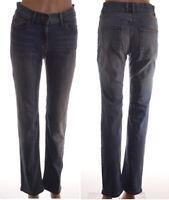 Ex M&S Mid Blue Denim Stretchy Slim Fit Skinny Leg Jeans size 8 - 18 (A89)