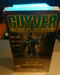 GUYVER DARK HERO+TRAPPED IN PARADISE * Preview tape*SEALED*VHS