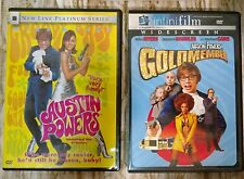 Austin Powers 2 Movie DVD Lot Gold Member & International Man Mystery LIKE NEW