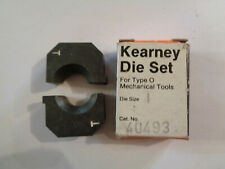 Kearney Die Set For Type O Mechanical Tools Size T Cat. No. 40493 In Box (3)