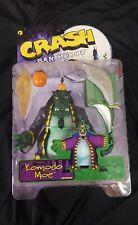 Crash Bandicoot Komodo Moe Action Figure Series One , New in Box