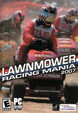 Lawnmower Racing Mania 2007 PC Game,Do you have the mowtivation? Can you cut it?