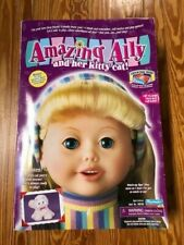 New In Box 2001 Vintage Amazing Ally & Her Kitty Cat Interactive Talking Doll