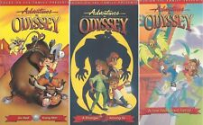 Adventures in Odyssey Family Animated Cartoon VHS Lot of 3 Go West Stranger
