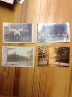 4 Postcards Ligonier Indianapolis And Jonesboro Indiana   RPPC INV-P162