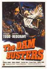 THE DAM BUSTERS  POSTER, RICHARD TODD - U.S.A.  -UNIQUE AT EBAY- ONLY  $4.99
