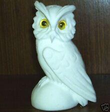 White Synthetic Stone Owl