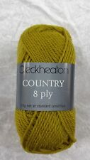 Cleckheaton Country #2313 Dijon 50g 100% Pure Wool 8 Ply