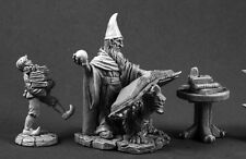 Wizards Workshop Reaper Miniatures Dark Heaven Legends Spell Caster Mage Magic