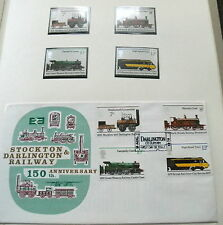 40 + - Great Britain 1960/70'S Railway Railroad Cover Collection In Album