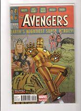 Avengers #9 - 2 Comics - Quinones 1:20 Iron Man Variant and 1st Print 2013 - NM