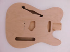 Alder T-Style Guitar Body Chambered