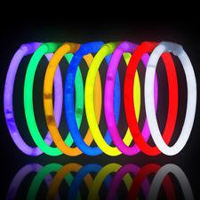 10PCS Stick Safe Glow Light Necklace Bracelets Fluorescent Festive Party Gifts