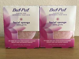Buf Puf Facial Sponge Extra Gentle 2 Boxes 3M