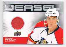 2010-11 UD GAME JERSEY MICHAEL FROLIK JERSEY 1 COLOR FLORIDA PANTHERS #GJ-FR