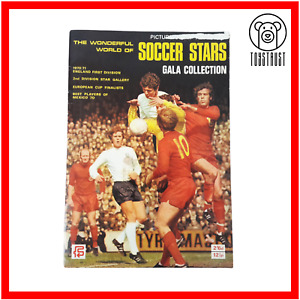 The Wonderful World of Soccer Stars 1970 1971 Vintage Complete Stamp Album