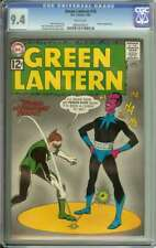 GREEN LANTERN #18 CGC 9.4 WHITE PAGES // SINESTRO APPEARANCE