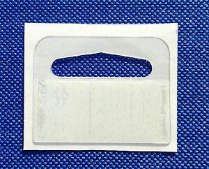 Strong Self Adhesive SMALL DELTA HANG TAB, EURO Slot,Hook, Hanging Tabs