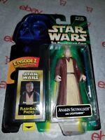 Hasbro Star Wars Anakin Skywalker With Lightsaber Action Figure Episode 1 1998