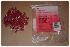 Terminal, Ring Tongue, Vinyl, Butted Seam, Stud Size 6, 22-18AWG, Red (Lot/82)