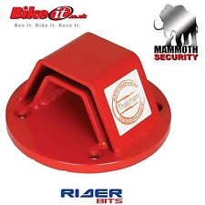 THATCHAM APPROVED MAMMOTH GROUND WALL ANCHOR SECURITY BOLT IN DOWN MOTORCYCLE